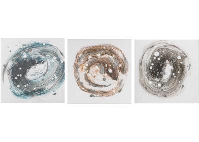 Precious stone - 30 x 30 cm (set 3 pezzi) AG090017-SET