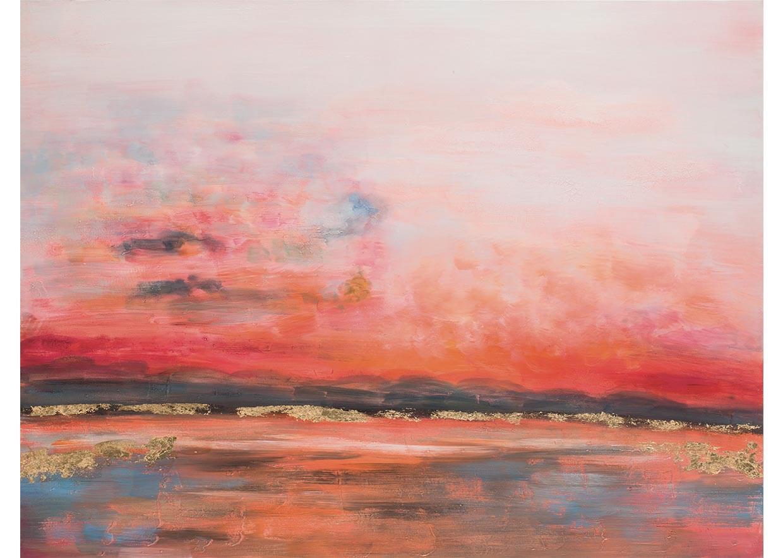 Alba sul fiume - 120 x 90 cm AG090030