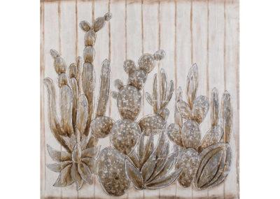 Arizona white - 100 x 100 cm (dipinto su legno) AG090027