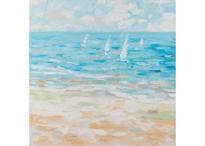 Acqua vento - 80 x 80 cm AG090023