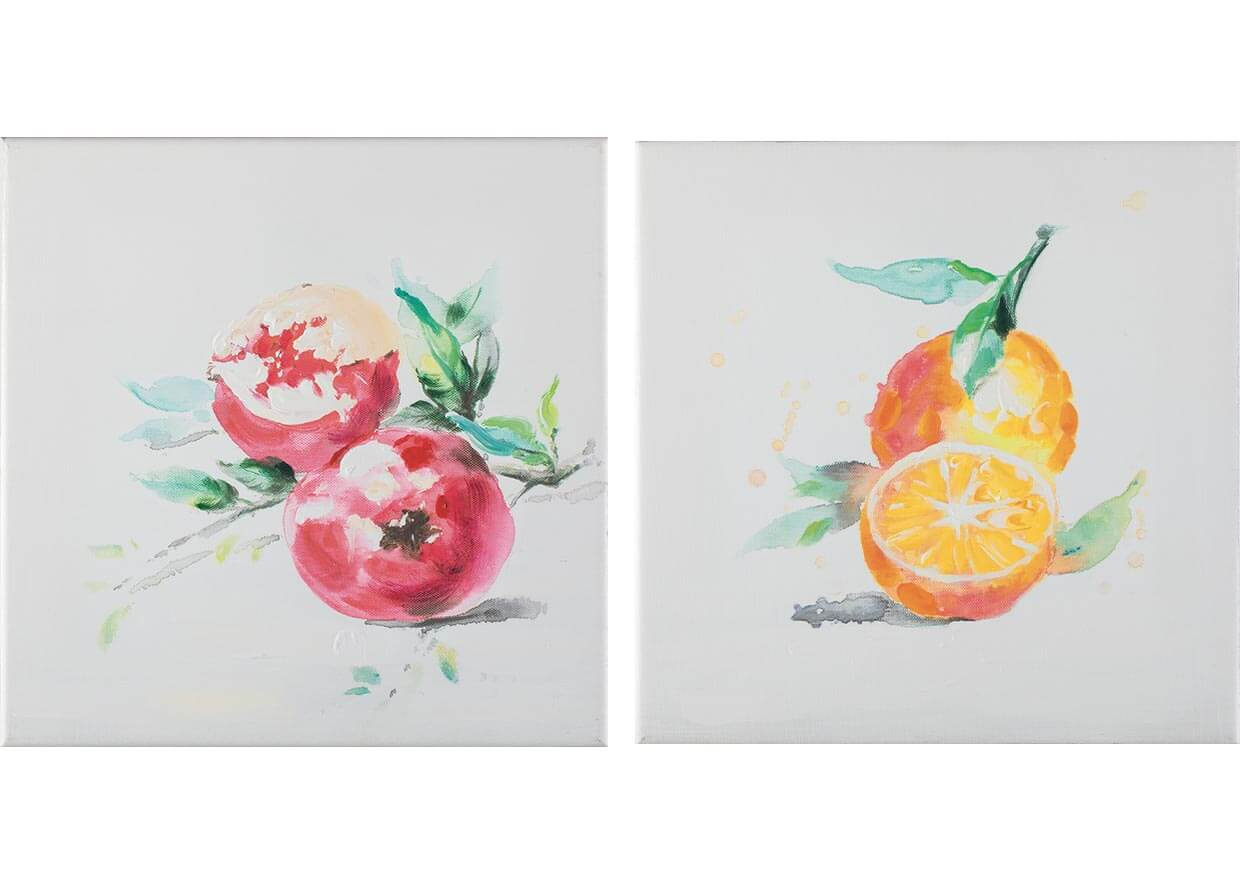 Color fruits - 30 x 30 cm (set 2 pezzi) AG090020-SET