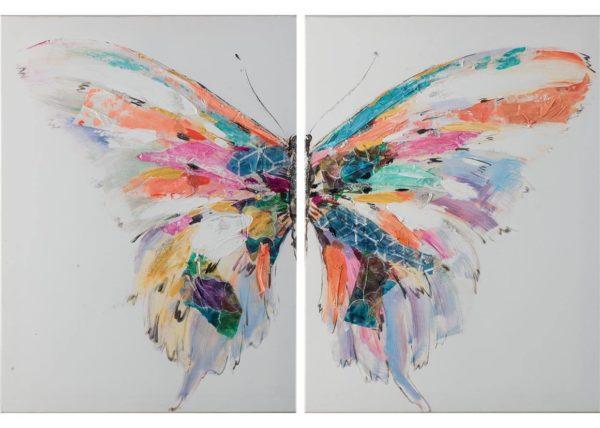 Butterfly - 120 x 80 cm (set 2 pezzi) AG090009-SET