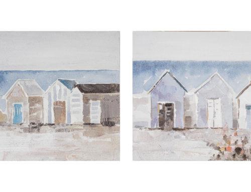 Vintage beach – 30 x 30 cm (Set 2 pezzi)