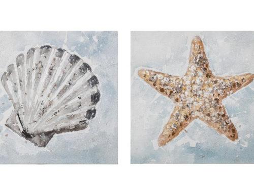 Seafloor – 30 x 30 cm (Set 2 pezzi)
