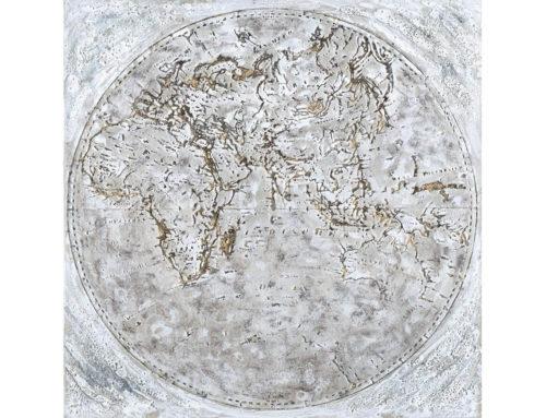 Earth – 100 x 100 cm