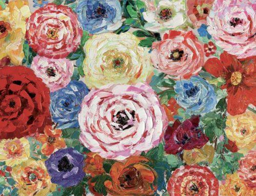 Big roses – 120 x 90 cm