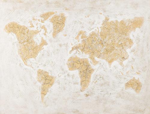 GOLDEN WORLD – 120 x 90 cm