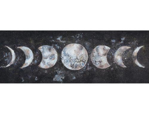 MYSTIC MOON – 150 x 50 cm