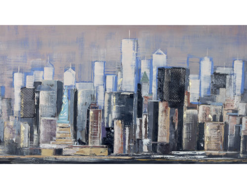 MANHATTAN SKYLINE – 150 x 80 cm