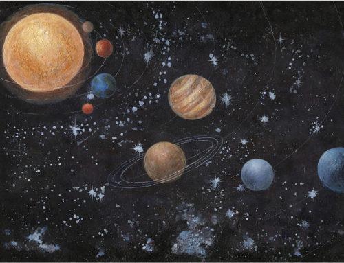 SPACE – 120 x 90 cm